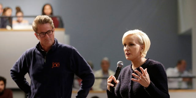 Mika Brzezinski and Joe Scarborough revealed their engagement in May.