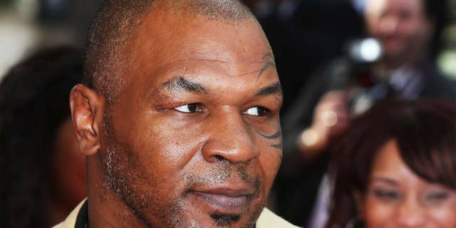 Mike Tyson hasn't fought in several years.