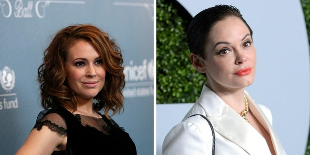 """Alyssa Milano brushed of her former """"Charmed"""" co-star's criticism of her involvement in the Time's Up and #MeToo movement."""