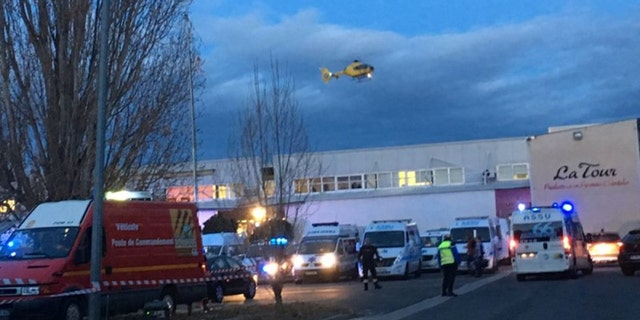 At least 19 people were injured, including seven seriously, in the southern part of France.