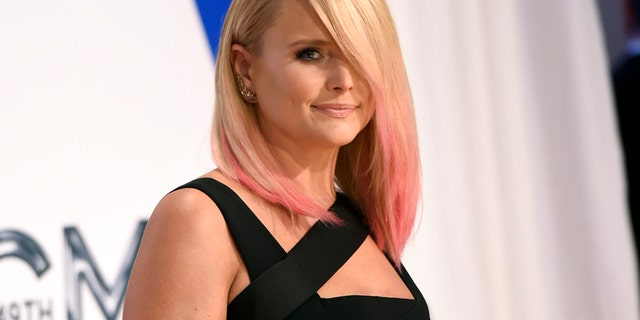 Miranda Lambert arrives at the 49th annual CMA Awards at the Bridgestone Arena on Wednesday, Nov. 4, 2015, in Nashville, Tenn.