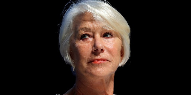 Actor Helen Mirren attends the Cannes Lions Festival in Cannes, France, June 21, 2017.                 REUTERS/Eric Gaillard - RTS1828U