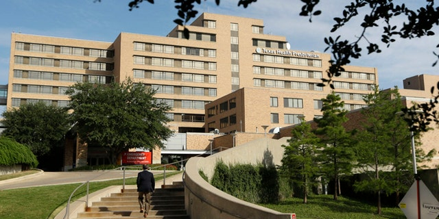 In this file photo, Texas Health Presbyterian Hospital is seen in Dallas.
