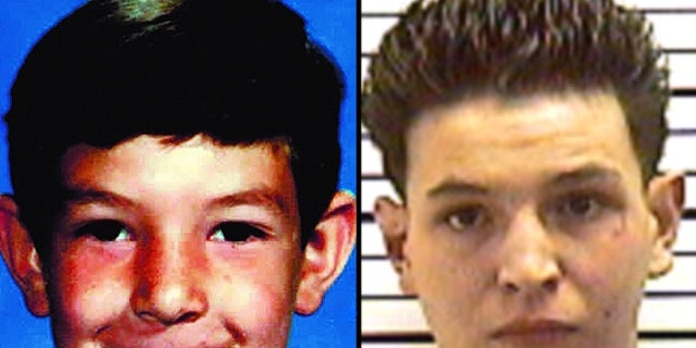 These images, provided by Fox affiliate KRQE-TV, show 7-year-old Robbie Romero, right, and the man claiming to be the missing boy, left.