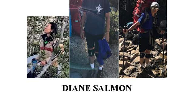 Diane Salmon was reported missing Friday.