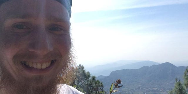 Dec. 30, 2014: This image released by Ad Purkh Kaur, the wife of Hari Simran Singh Khalsa, shows Hari Simran Singh Khalsa in the last selfie he took of himself before going missing while hiking in rugged mountain terrain near the town of Tepoztlan, Mexico. (AP)
