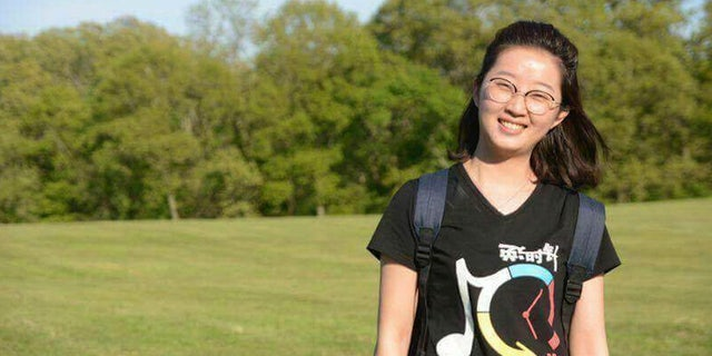 This undated photo provided by The University of Illinois Police Department shows Yingying Zhang. Police said the FBI is investigating the disappearance of Zhang, a Chinese woman from a central Illinois university town, as a kidnapping.