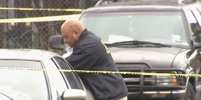 An investigator in the hunt for homicide suspect Antoine Adams.