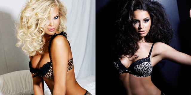 Two contestants for the 2010 Miss USA pageant in their official photographs. (Courtesy: Miss USA)