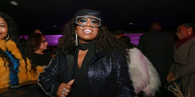 """Missy Elliott received a """"Visionary"""" award at an Essence pre-Grammys event in New York City."""