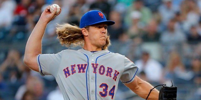 Noah Syndergaard will head to the DL after contracting hand-foot-and-mouth disease