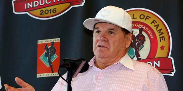 Pete Rose is accused of gambling thousands of dollars.