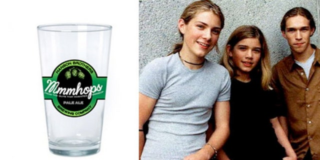 Hanson band brews Mmmhops Pale Ale in Oklahoma and Missouri which is described as an English-style pale ale.