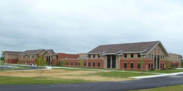 Miamisburg Middle School: the scene of the alleged crime.