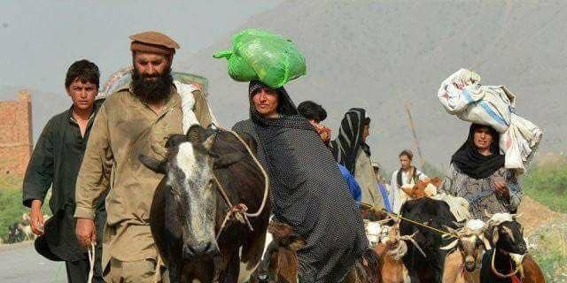 Afghans return to their homes after the MOAB was dropped and their villages are cleared of ISIS.
