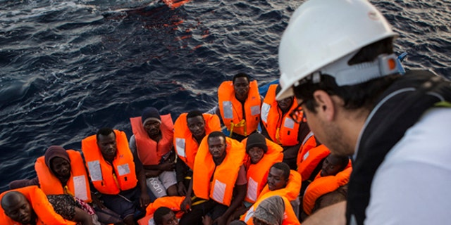 The number of people crossing the Mediterranean as a whole has actually decreased when compared to previous years, but a majority of these deaths are occurring on one specific route and may be attributed to greedy smugglers capitalizing on the ongoing refugee crisis.
