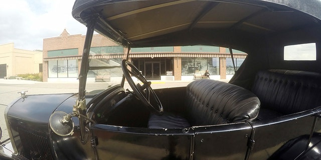 View of Model T interior