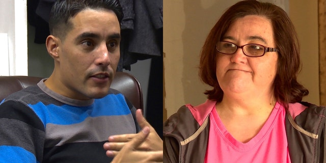 """Mohamed (left) and Danielle (right) of TLC's """"90 Day Fiance."""""""