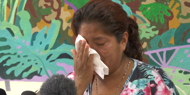 Miriam, who traveled from Guatemala with her four-year-old son, said border agents took him while he was asleep.