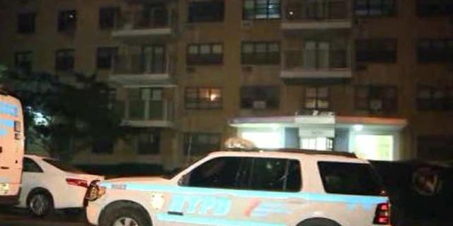 The Bronx apartment where Lisette Bamenga allegedly staged a suicide-murder attempt.