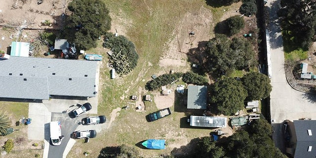 The incident in Monterey County that injured two deputies took place at this house, above.