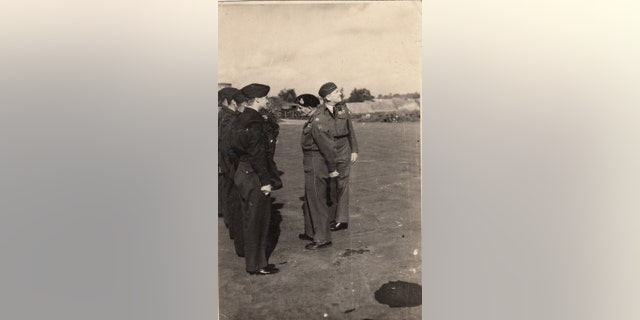 The archive also includes photos of Field Marshal Montgomery visiting British troops in Belgium (Henry Aldridge & Son)