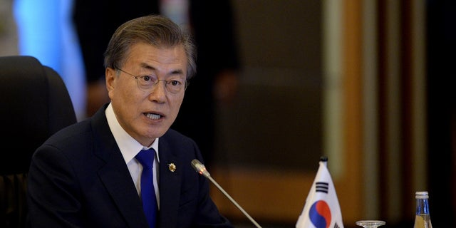 South Korean President Moon Jae-In said President Trump deserves to win the Nobel Peace Prize.