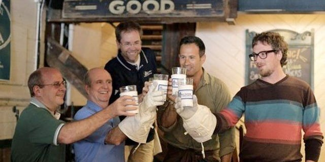 Dogfish Head teamed up with space suit manufacturer ILC Dover to help make Celest-jewel-ale.
