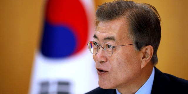 South Korean President Moon Jae-in said his country will prevent war at all cost.