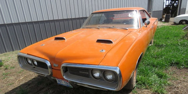 One of the gems is this 1970 Dodge Super Bee 440 6-pack that is reportedly a numbers-matching car.