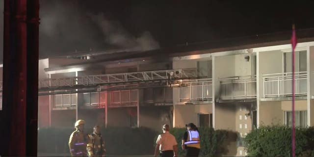 A fire at a Michigan motel has killed a woman and five children from the same family, officials said.