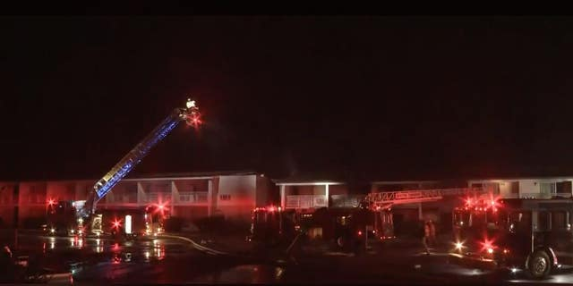 Firefighters received a call about the fire at 1:45 a.m. local time, a report stated.