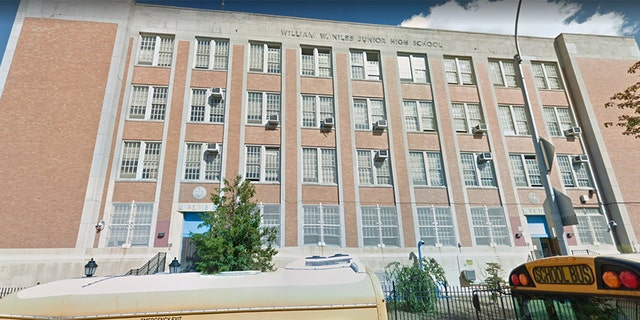 The teacher, who is white, was giving a lesson on U.S. slavery at Middle School 118 in the Bronx.