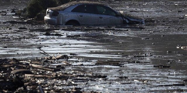 The mudslides have raged in Southern California this week.