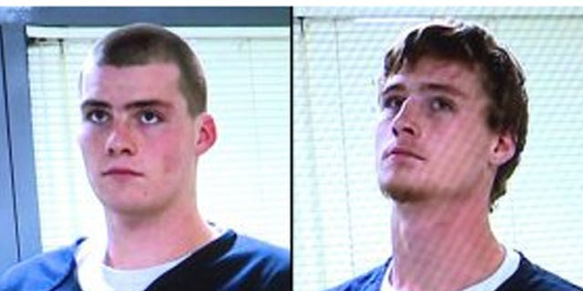 Austin Larry Mostrong, (l.), and Preston Autry Mostrong, (r.), had pleaded not guilty in the murder.
