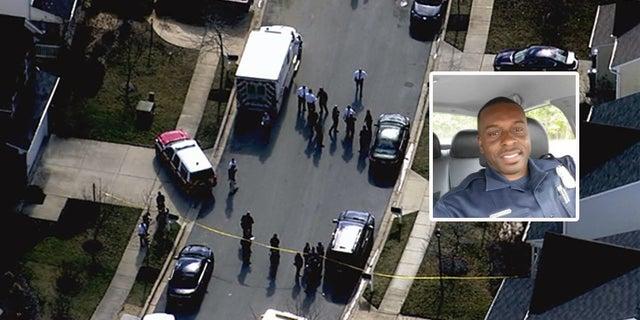 Cpl. Mujahid Ramzziddin was off-duty when he was shot Wednesday, Feb. 21, 2018.