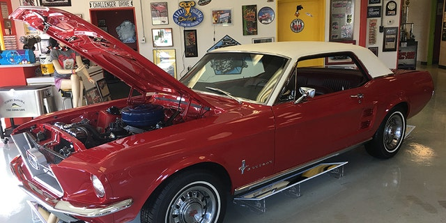 Veterans groups, family, neighbors, mechanics, and journalists donated time and money to catch the car thief and bring the Mustang back to its original glory.