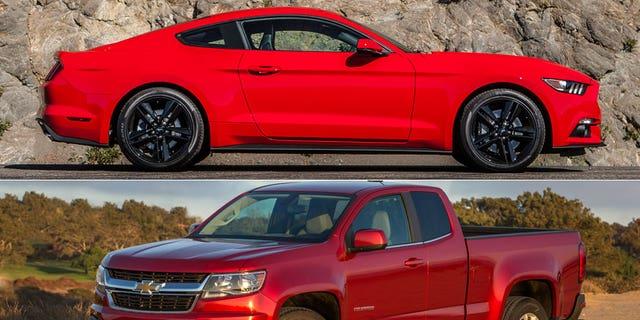 Ford Mustang/Chevrolet Colorado