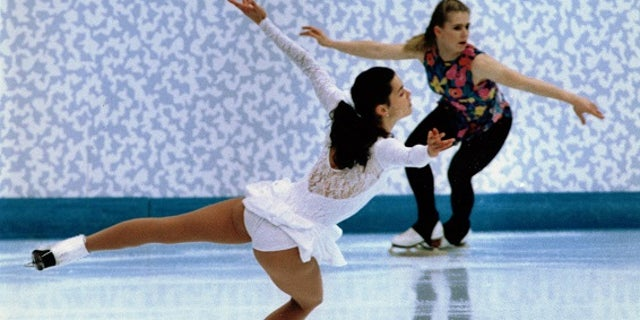 Seven weeks before the 1994 Winter Olympic games, Nancy Kerrigan was clubbed in the knee with a police baton.