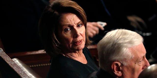 House Minority Leader Nancy Pelosi was unmoved by Trump's speech