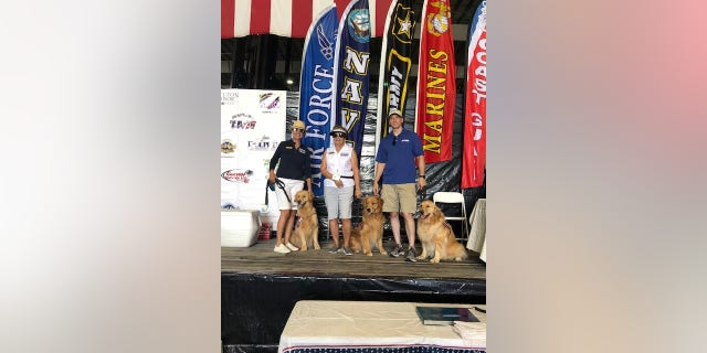 The organization was created by couple Steve and Jamie Lloyd to celebrate active duty military.