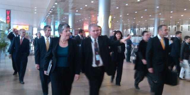 Tuesday: Homeland Security Secretary Janet Napolitano tours Ben-Gurion Airport in Israel to take a look at their airline security measures.