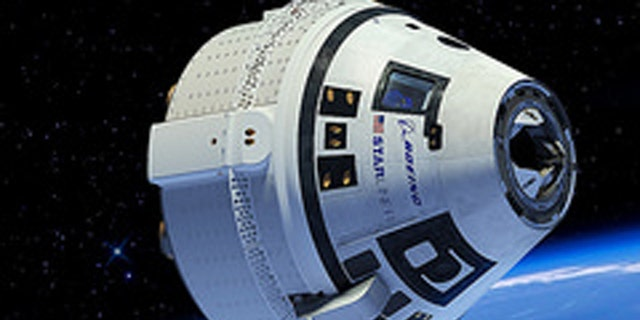 In this illustration, a Boeing CST-100 Starliner spacecraft is shown in low-Earth orbit. (Photo credit: Boeing)