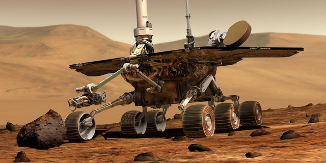 Mars $400 million Opportunity rover was sent to space in July 2003.
