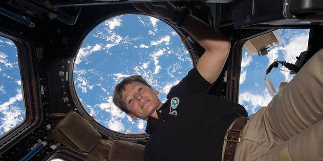 Record-breaking NASA astronaut Peggy Whitson (NASA).