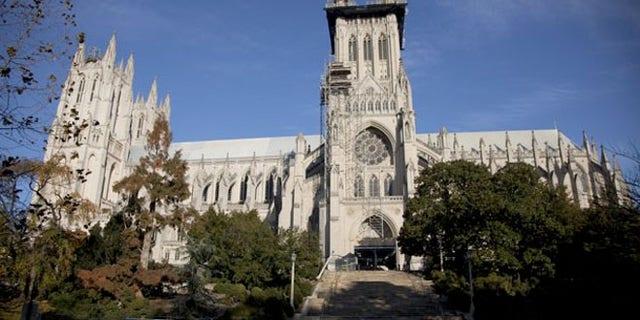 The Washington National Cathedral.