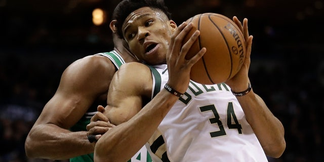 Giannis Antetokounmpo wasn't able to be seated at a Milwaukee taco restaurant.