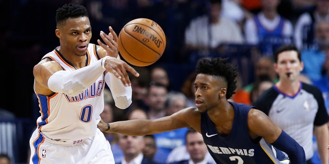 An Oklahoma City Thunder broadcaster came under fire Wednesday night for using 'cotton-picking' when describing Russell Westbrook's play.