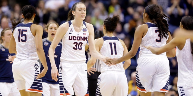 Breanna Stewart was AAC tournament MVP for a second time in 2016.