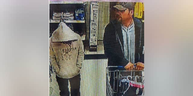 Hill, 15, was spotted with an unknown man at a Walmart in Randleman, N.C. on Monday.